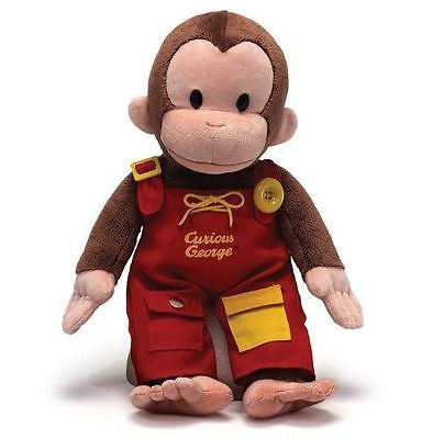 "Gund Plush Curious George Teach Me 16"" 4042871"