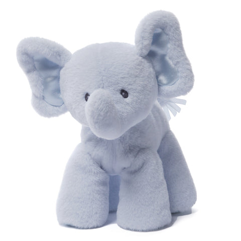 "Baby Gund Bubbles Plush Elephant Blue  7.5"" #4048395"