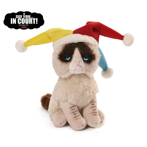 "Gund Plush Grumpy Cat Court Jester 5""  #4054066"