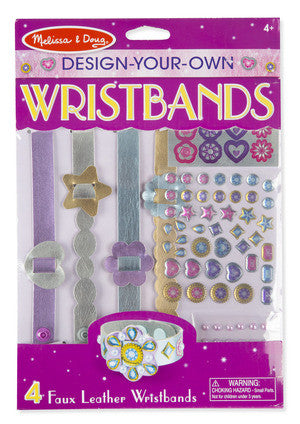 Melissa and Doug Jewelry Made Easy Design Your Wristbands #9473