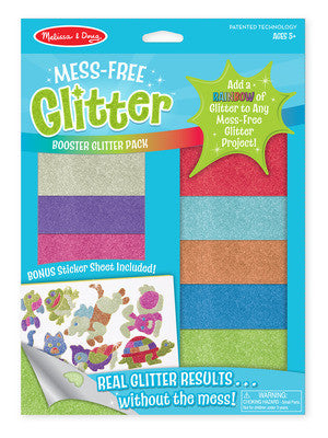 Melissa and Doug Mess-Free Glitter Booster Pack #9502