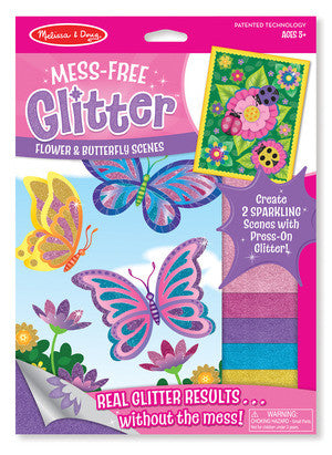 Melissa and Doug Mess-Free Glitter Flower and Butterfly Scenes #9511