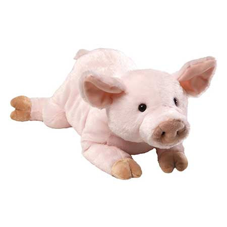"Gund Plush Hamlet the Pig 14""  4037027"