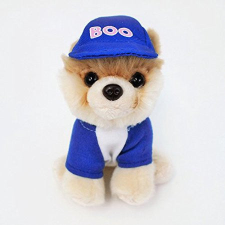 "Gund Plush Itty Bitty BOO Baseball BOO  #031  5"" #4050491"