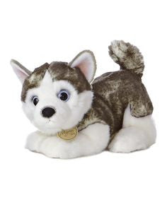 "GUND Gundimals Plush Husky 8"" #4028855"