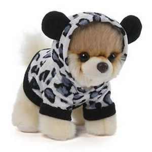 "Gund Plush Itty Bitty BOO Boo in Leopard Suit #26  5"" #4050491"