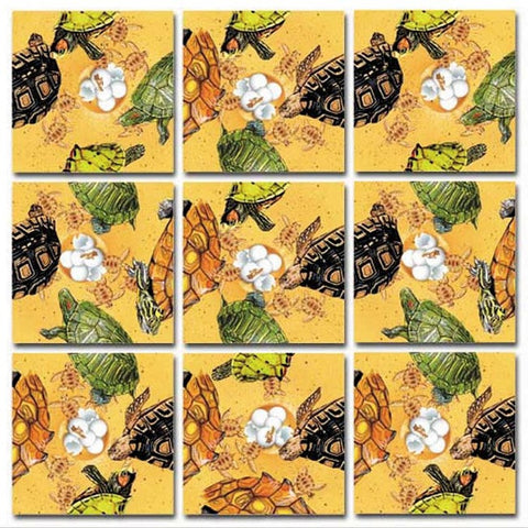 Scramble Squares Puzzle - Turtles
