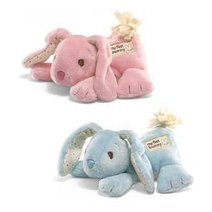 GUND Baby Plush My First Bunny Blue with Chime - #320036
