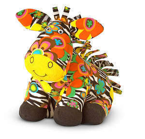 Beeposh Zelda Zebra Stuffed Animal Toy by Melissa and Doug -- #7150