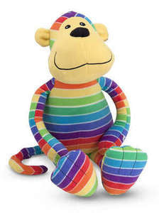 Beeposh Mack Monkey  Stuffed Animal Toy by Melissa and Doug -- #7153