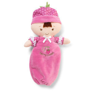 "GUND Baby Berry Sweet Dolly Baby Doll  Brunette  - 10""  #320613"