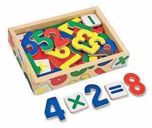Melissa and Doug Magnetic Wooden Numbers  - Item #449
