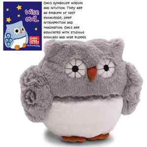 GUND Our Name Is Mud Wise Owl Plush Stuffed Toy - 10""