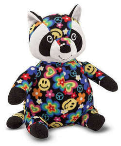Beeposh Razzle raccoon   Stuffed Animal Toy by Melissa and Doug -- #7245