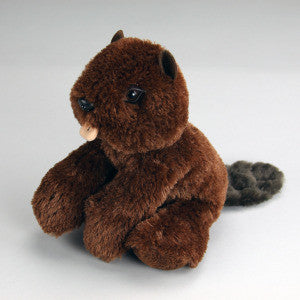 "Wilson, Jr.  Plush Beaver 8"" - Purr-Fection by MJC"