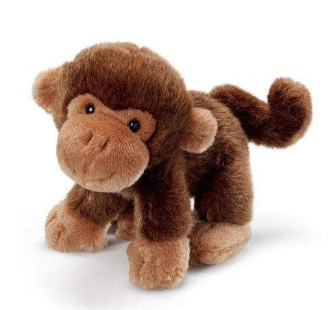Russ Plush Monkey Toy  With Sound  7""