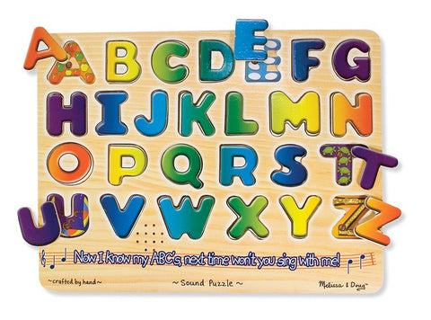Alphabet Sound  Puzzle - Melissa and Doug