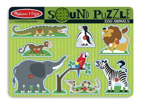 Zoo Animals Sound  Puzzle - Melissa and Doug