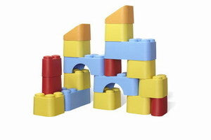 Green Toys Buuilding Blocks - Child Safe - Earth-Friendly - NWT