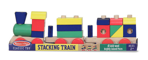 Wooden Stacking Train Set - Melissa and Doug