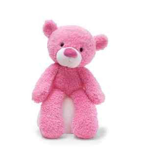 GUND Susan G. Komen Fuzzy Bear  Plush Pink  Teddy Bear - 13.5 Inches - 4031029