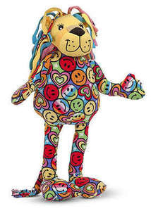 Beeposh Lizzy Lionn   Stuffed Animal Toy by Melissa and Doug -- #7260