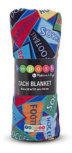 Beeposh Zach Sports Blanket  by Melissa and Doug -- #7280