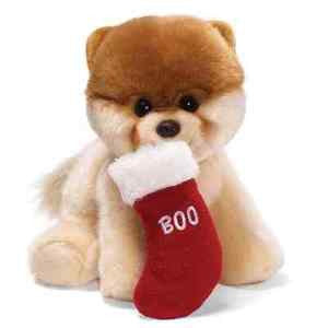 "GUND Plush Christmas ""BOO"" The World's Cutest Dog - 8"" #4030387 - FREE GIFT WRAP"