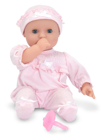 "Jenna  12"" Baby Doll by Melissa and Doug"