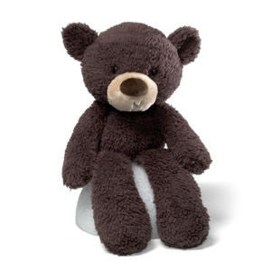 GUND Fuzzy Chocolate  Bear - 13.5 Inches - NWt