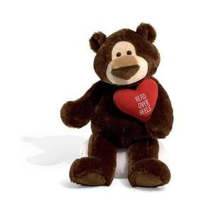 GUND McCarthy Plush Valentine's  Day  Bear - 18 Inches #319997
