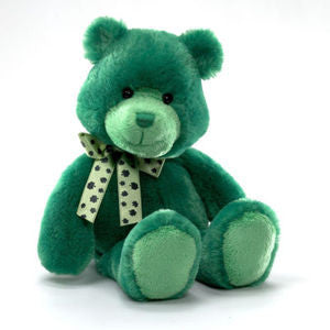GUND Keehn Plush Green Saint. Patrick's Day  Bear - 12 Inches