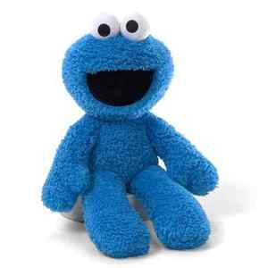 "GUND Sesame Street Plush Cookie Monster Take Along Buddy Toy - 13"" - Ages 1+"