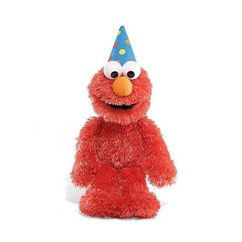 GUND Sesame Street Plush Talking Happy Birthday Elmo