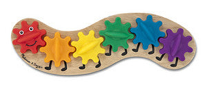 Caterpillar Gear  Toddler Toy  - Melissa and Doug