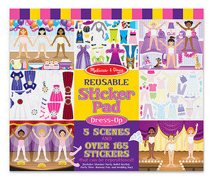 Dress-Up  Reusable  Sticker Pad - Melissa and Doug