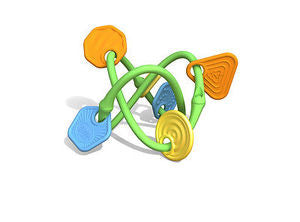 Green Toys Twist Teether Baby Toy - Earth Friendly - Baby Safe - Made in the USA