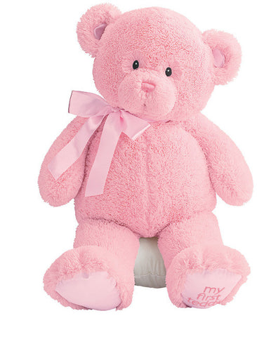 "My First Teddy 24"" Plush Teddy Bear Pink - GUND Baby"