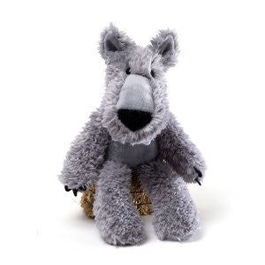GUND Woodsy Plush Gray Wolf Stuffed Animal - 12""