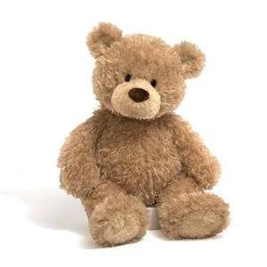 GUND Stitchie  Plush Tan Teddy Bear - 14 Inches #319929
