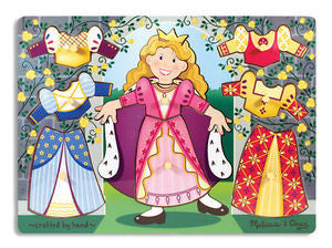 Princess Dress-Up  Peg Puzzle - Melissa and Doug