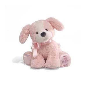"My First Puppy  12"" Plush Puppy Pink - GUND Baby - NWT"