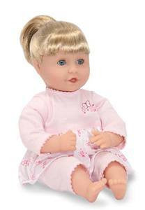 "Natalie 12"" Baby Doll by Melissa and Doug NWT"