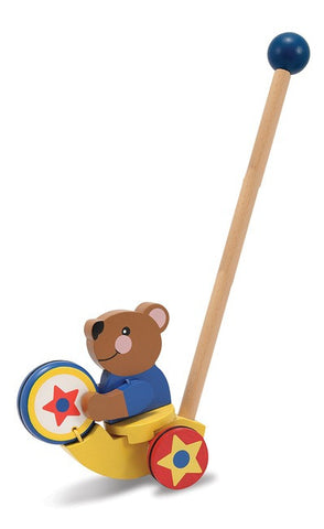 Drumming Bear Push Toy - Melissa and Doug