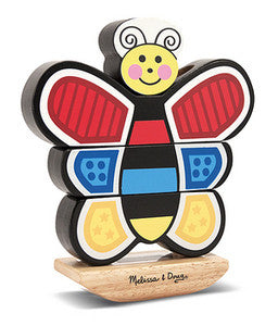 Butterfly Stacker Toddler Toy  - Melissa and Doug
