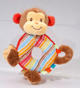 Playtivity Monkey Rattle  - Douglas Cuddle Toys