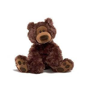 GUND Philbin Plush Brown Bear - 18 Inches - NWt