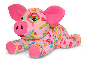 Beeposh Becky Pig  Stuffed Animal Toy by Melissa and Doug -- #7154