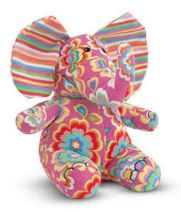 Beeposh Sally Elephant  Stuffed Animal Toy by Melissa and Doug -- #7157