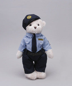 "Police Teddy Bear - 8"" - Unipak Designs"